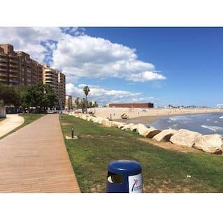 Apartamento a 150 m de la playa - Benicarlo