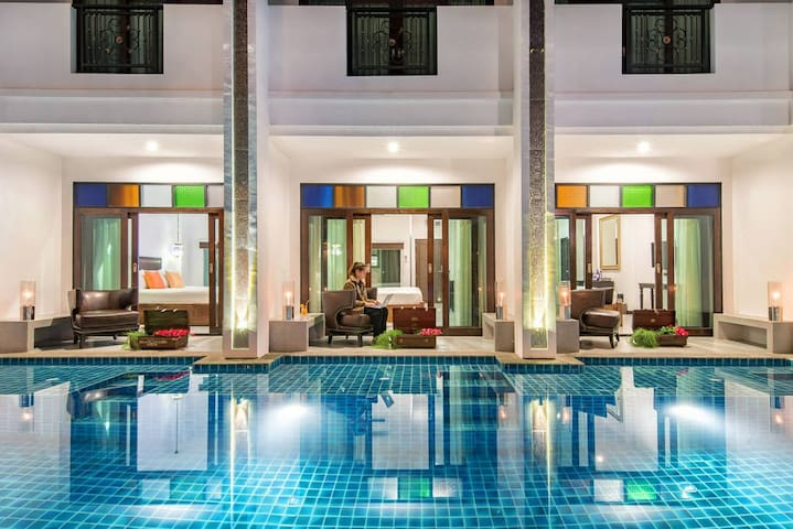 Luxury Deluxe Pool Access in Pai - Pai - Boutique hotel