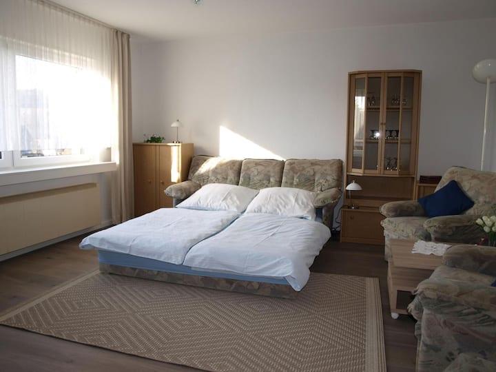 Ferienwohnung Ruhrtalblick, (Bestwig), Ferienwohnung, 57qm, Terrasse, 1 Schlafzimmer, max. 5 Personen