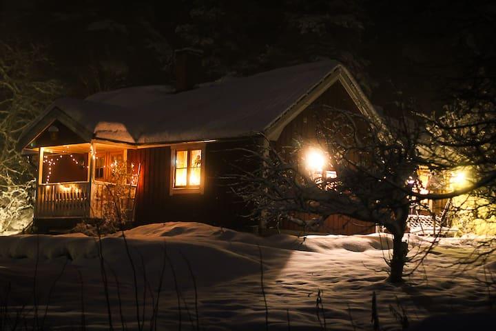 Charmig stuga, Gustavsberg, Himmelsby