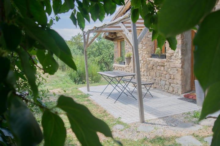 Maison dhôte Chataîgnier La Ferme de Blanc Ardèche