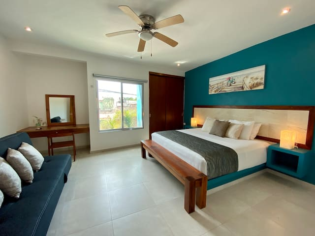 Private Apt + Ideal for couples + Tulum Center #2