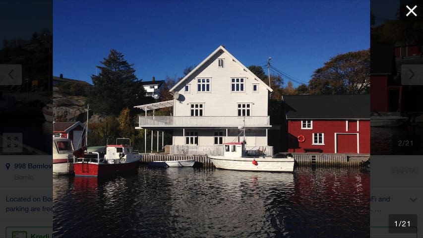 Olsahuset Bømlo - Marina Duplex - Bømlo - Hus