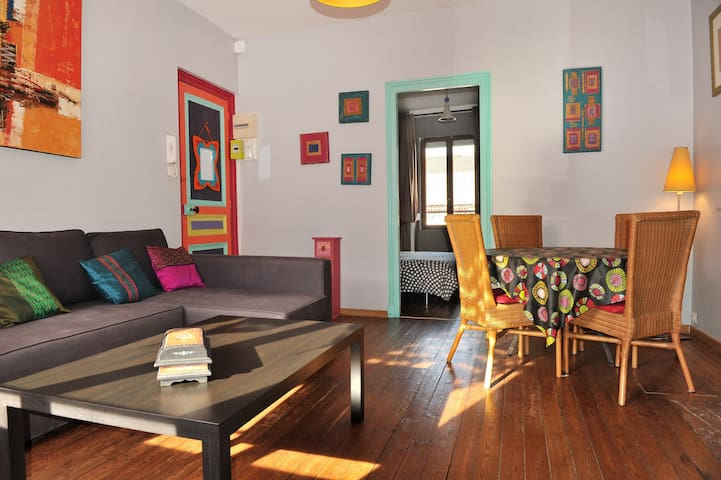 52m ² apartment near train station