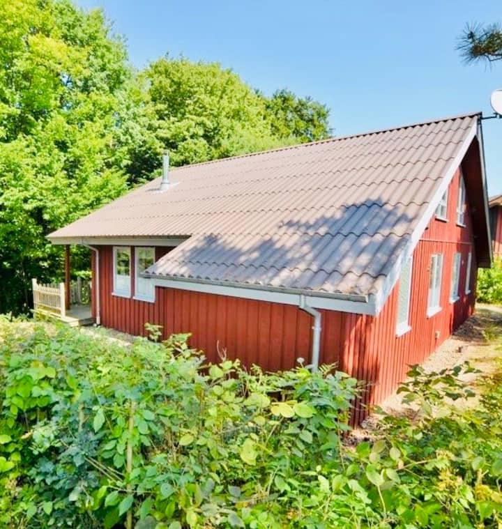 Premium Ferienhaus -Sauna Natur Erholung Wald #51L