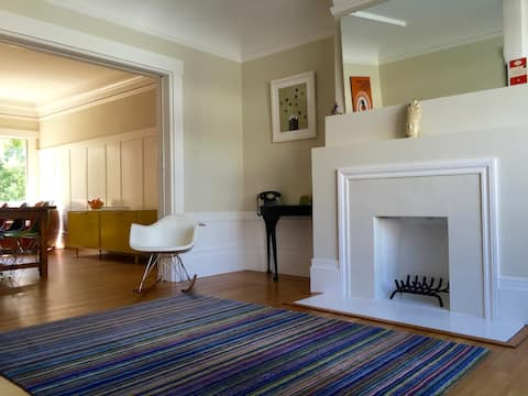 House by Golden Gate park & beach. Clean & safe.