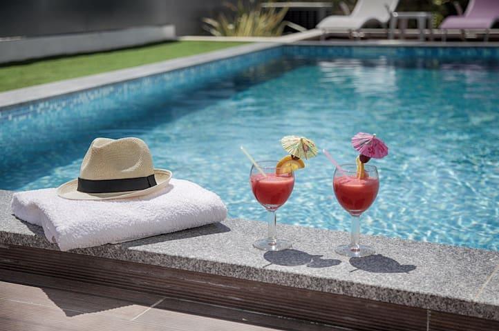 Villa Celestine  piscine  Portimao Algarve Wifi