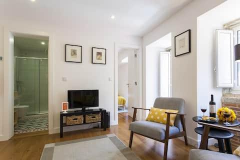 Luminoso apartamento junto a São Bento