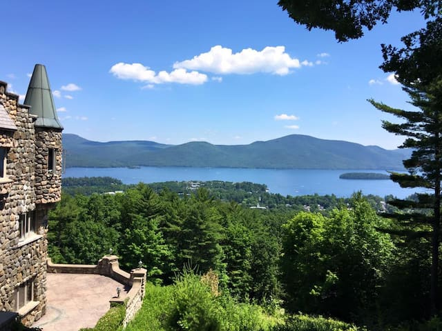 Magnificent views of beautiful Lake George.
