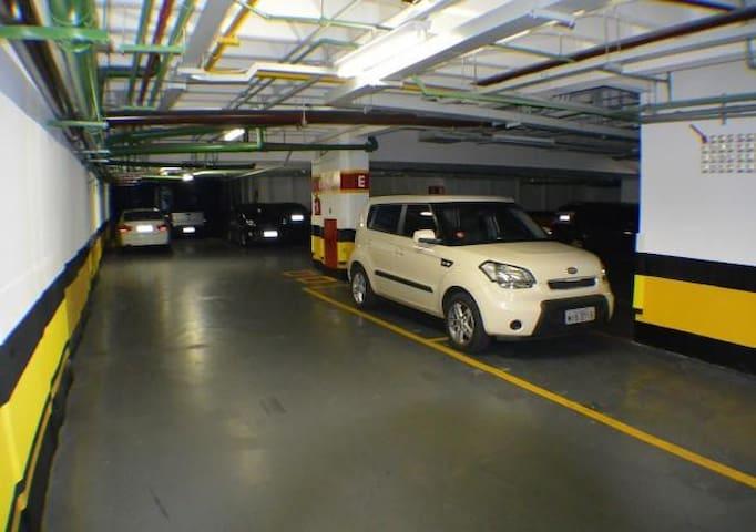Garagem individualizadas