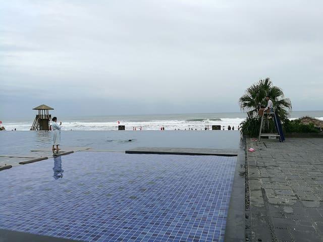 双月湾檀悦豪生度假酒店二房海景公寓 - 惠州市 - Lägenhet