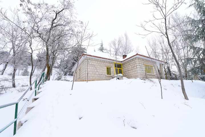 Cozy Mountain Gem in Laklouk with Hot tub