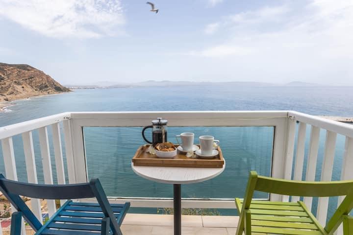 ★Amazing Sea View in Agia Galini★