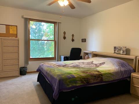 密歇根州麥康市第二間獨立臥室