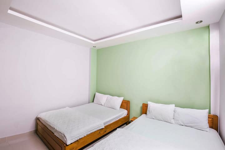 Nha Trang, Seamoon Guest Home.203 Ст.2 дву.кровати