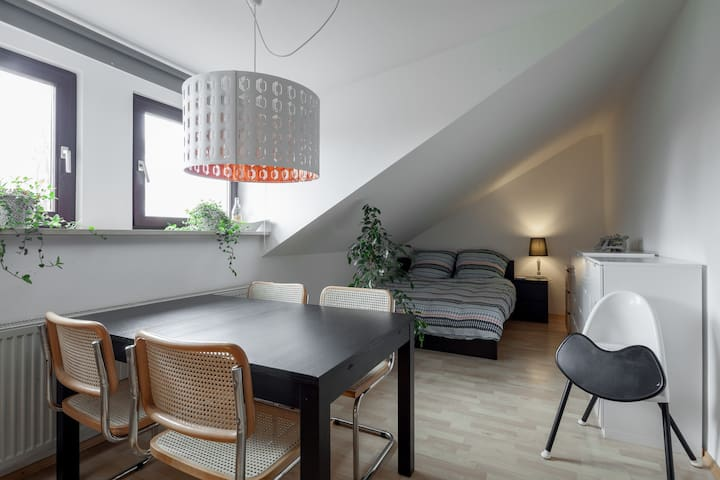 Simple, clean, 20min from centre - apartment. - Munic - Pis
