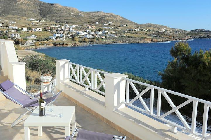 VILLA PETROS SYROS CYKLADES GREECE - Villa Petros - Willa