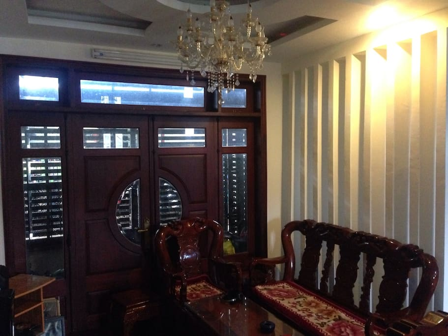 We also offer private rooms like this one.