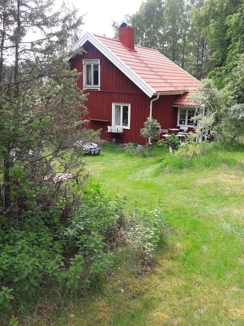 Cómoda casa de campo vintage en el bosque  - Skee