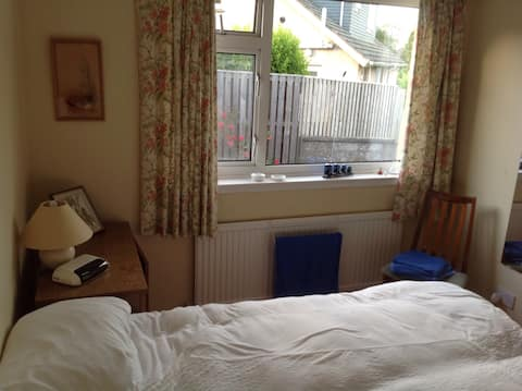 St Andrews, comfortable room.