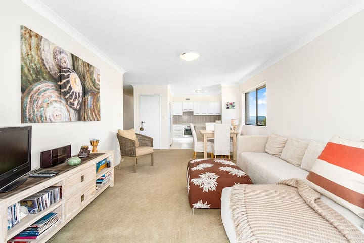 Kingscliff Holiday Unit With 180° Ocean Views - Kingscliff - Appartement