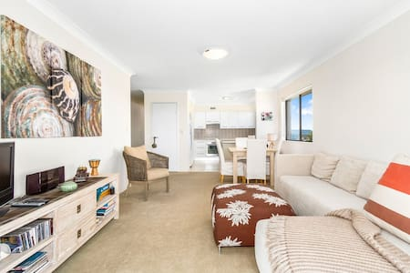 Kingscliff Holiday Unit With 180° Ocean Views - Kingscliff - Appartamento