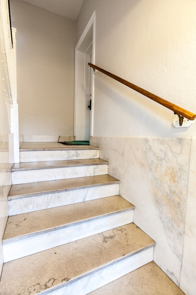 This is the old marble entry.