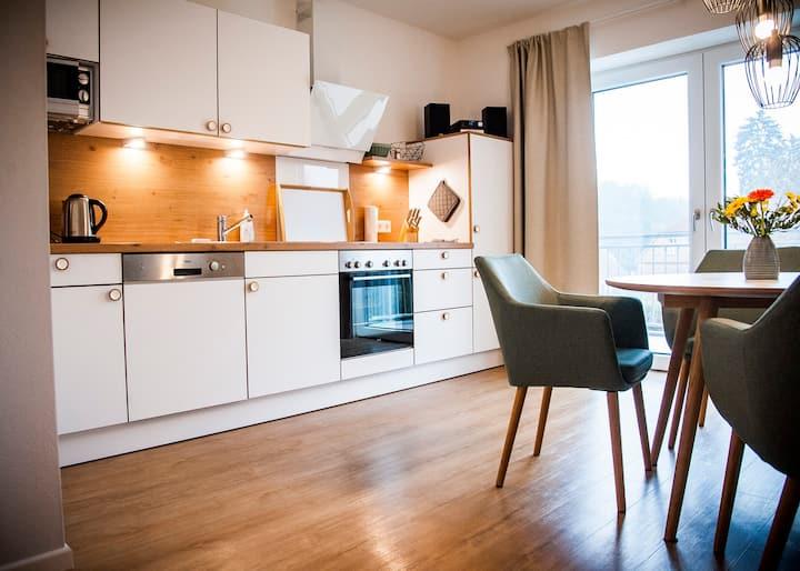 """Carwitzer See"" Dachgeschoss Wohnung mit Balkon"