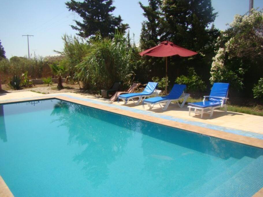Villa dar el yasmine avec piscine villas louer for Villa a louer agadir avec piscine