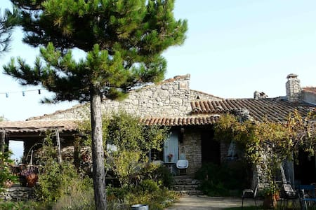 Maison en plein coeur du Luberon - saignon - Hus