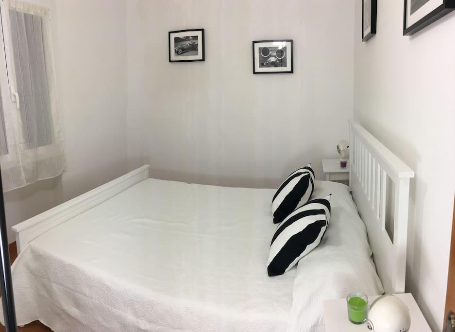 La seconda camera da letto