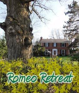 Romeo Retreat - Checkered Room - Romeo - Casa