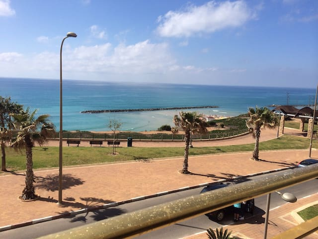 Spacieux appartement Face mer ! - Netanya - Pis