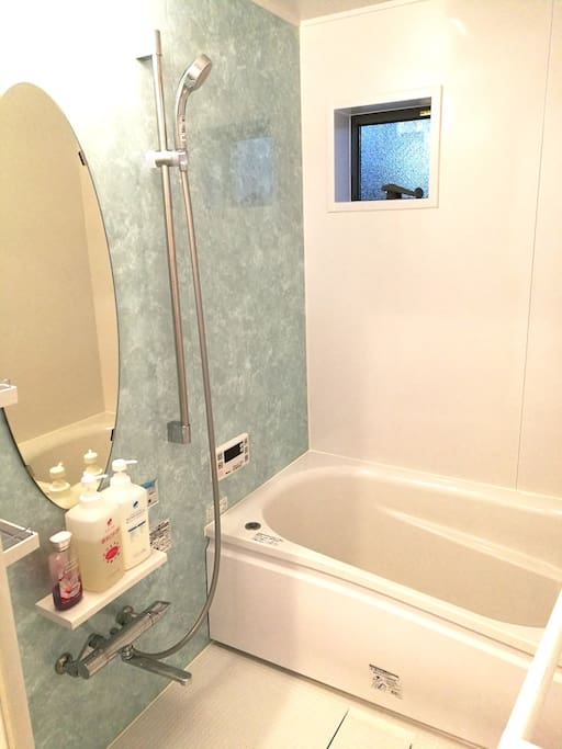 private bathroom Let's take a bath like a Japanese^^