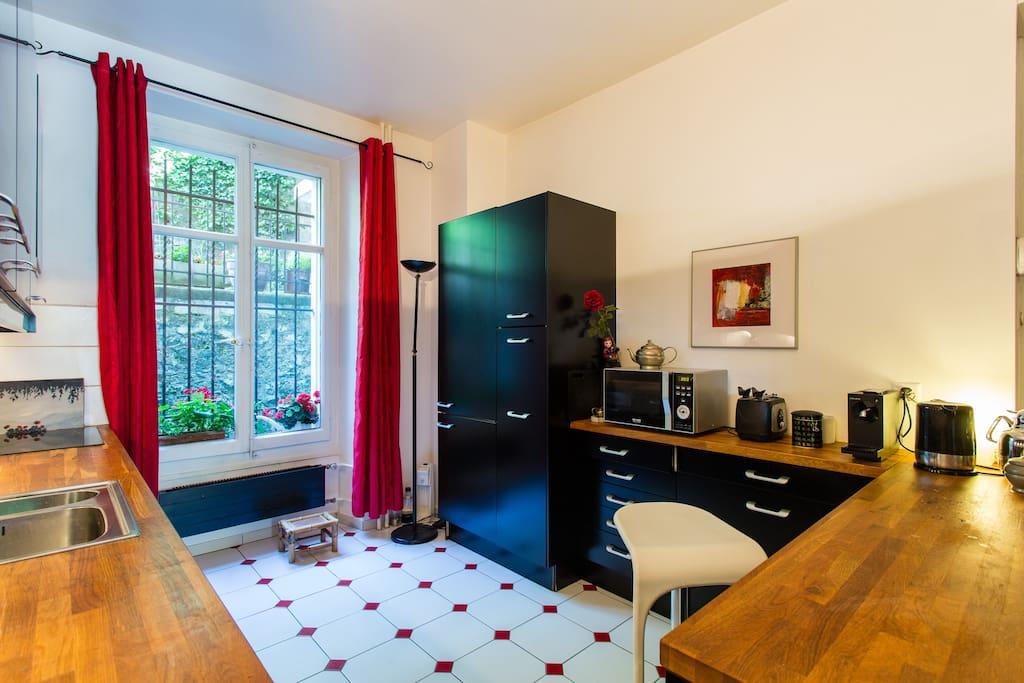 Petite chambre avec jardin centre maisons de ville louer lausanne vaud suisse - Location chambre lausanne ...