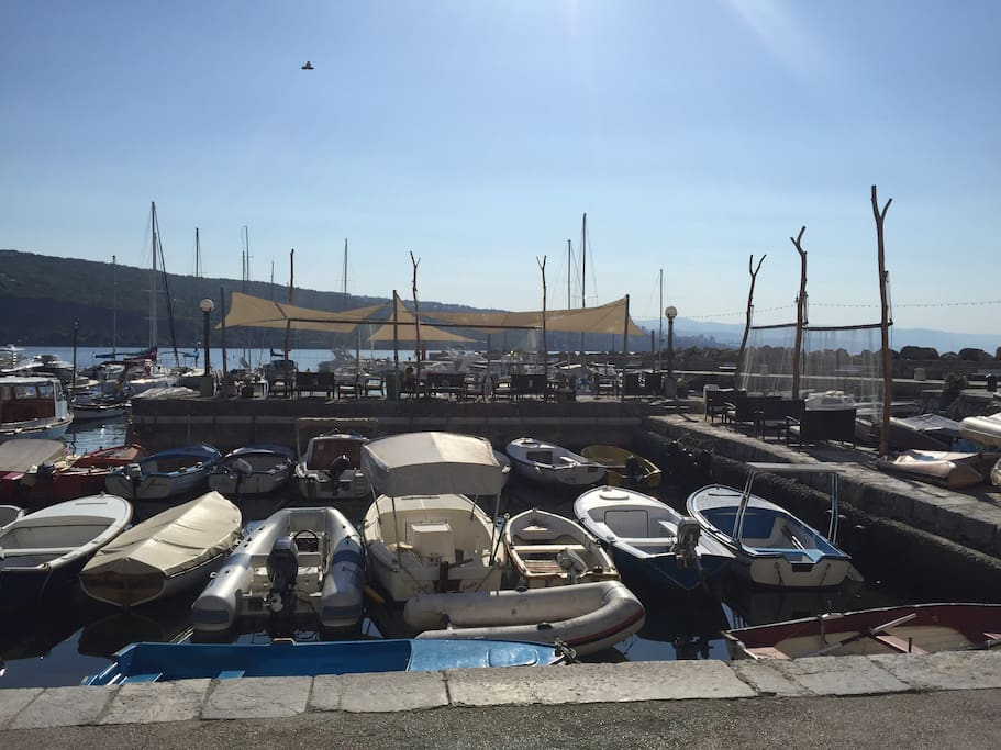 Volosko harbor