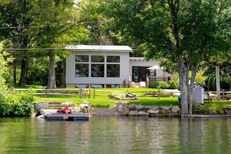 Lakefront Luxury on Masten Lake - Wurtsboro - Haus