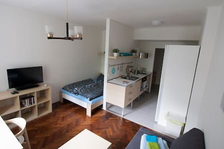 Cozy apartment, garden view ★Best rating in Brno!★ - Brno - Leilighet
