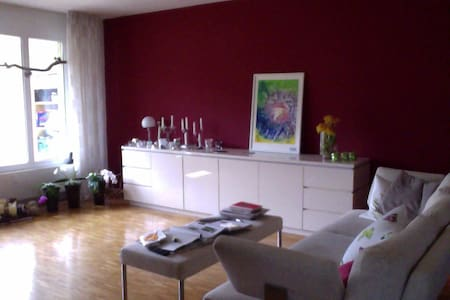CHEERFUL CENTRALLY LOCATED ROOM- ART BASEL - Binningen