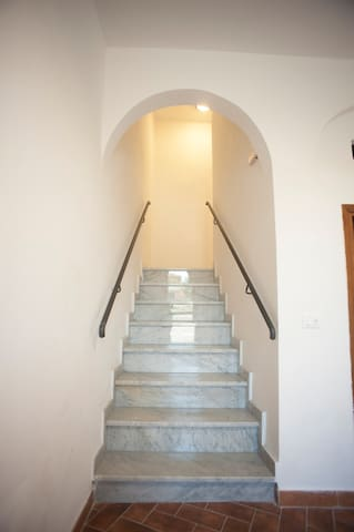 Stairs to Room 2332