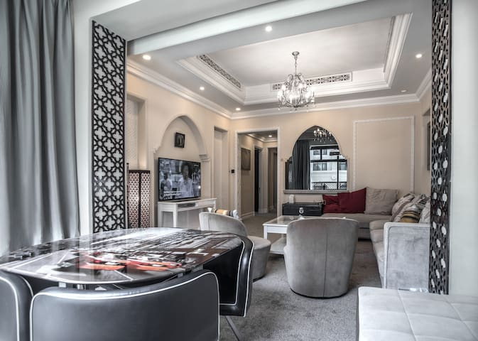 15. Three bedroom inside Dubai Mall
