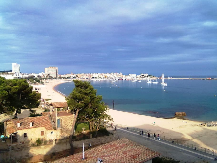 View from the apartment (Palamós)
