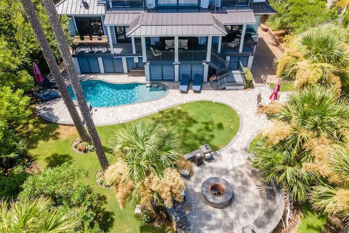 "11 East Wind- Like ""New"" Ocean Front Beach Home w/ Heated Pool & Amenities"