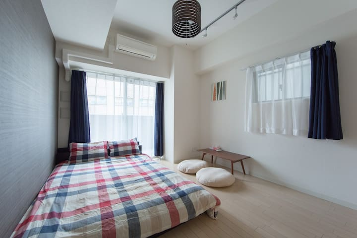 3) Most convenient in OSAKA NAMBA with Free Wifi - Osaka - Apartamento
