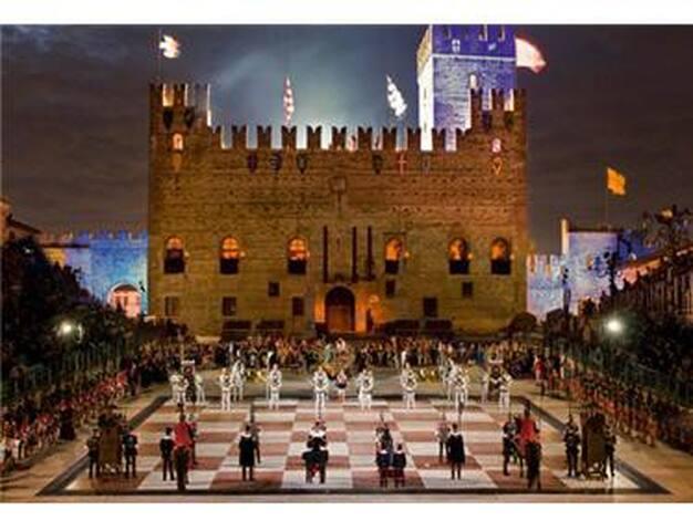 piazza degli scacchi  marostica