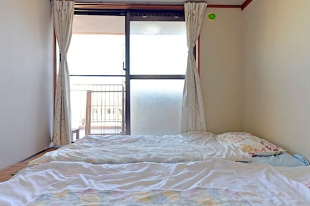 Japanese style room near the port - Naha-shi - Appartement