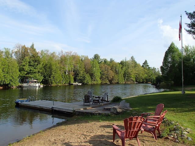 Quaint cottage on the Gull River - Kawartha Lakes - Kabin