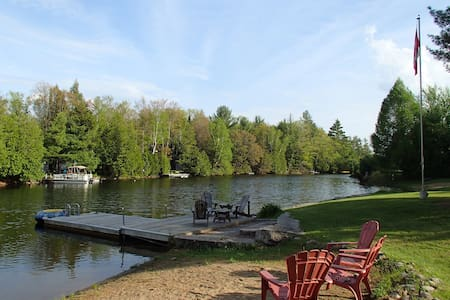 Quaint cottage on the Gull River - Kawartha-innsjøene - Hytte