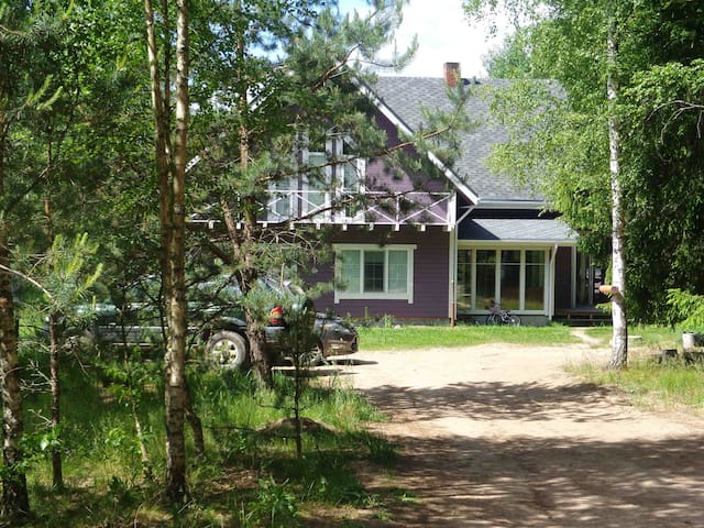 Malinovka Homestead - Rustic Dream in Pinewoods - Narac - Bed & Breakfast