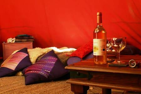 Eco Retreats Luxury Tipi - Machynlleth